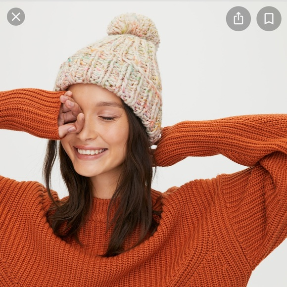 NWT Neon Sunset Mix Tuque